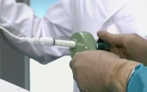 Прибор для закачивания костного цемента