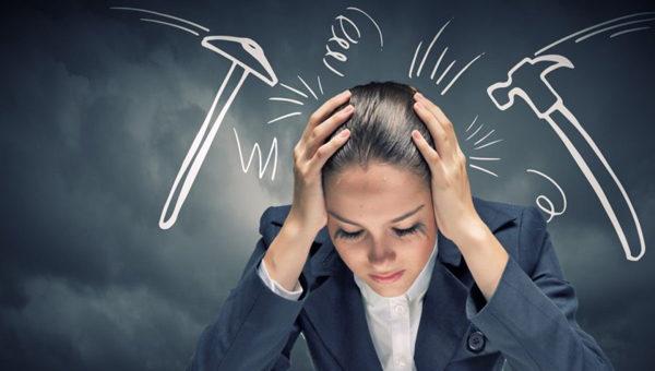 Стрессы - одна из причин болезни