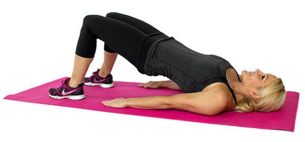 Упражнение помогает укрепить мышцы спины и нормализовать кровоток