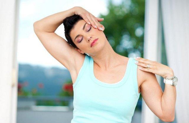 Упражнения помогают восстановить состояние шеи и улучшить общее самочувствие