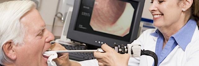 Эндоскопия помогает обнаружить рак органов шеи
