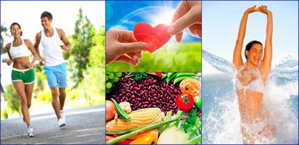 На начальной стадии лучшим лечением является физическая активность, сбалансированное питание и положительные эмоции