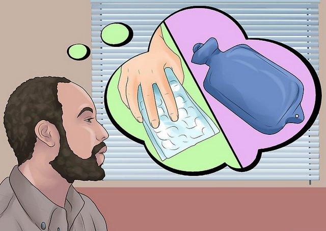 Горячие и холодные компрессы могут помочь временно избавиться от дискомфорта