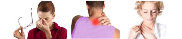 Повышенная утомляемость, боли в затылке, тошнота и головокружение - типичные признаки остеохондроза в шейно-грудном отделе
