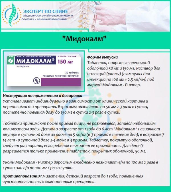 """""""Мидокалм"""""""