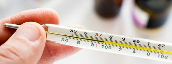 При воспалении резко поднимается температура тела