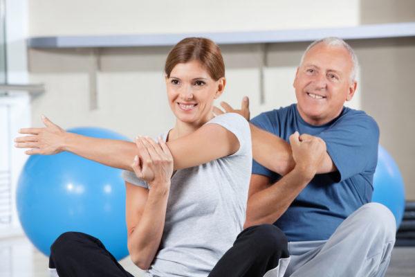 Комплексное лечение грыж включает в себя ЛФК