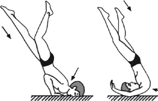 При нырянии или падении на голову тоже легко можно повредить шею