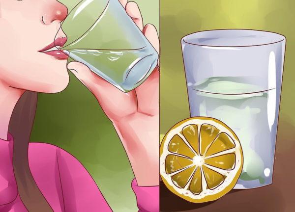 Пейте воду с антиоксидантами