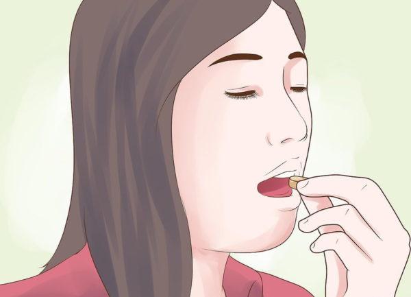 При необходимости принимайте лекарства