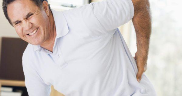 При резкой боли в спине занятия необходимо прекратить