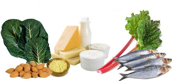 Ежедневный рацион должен обязательно включать продукты, богатые кальцием и фосфором