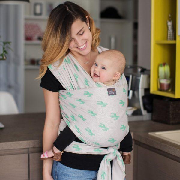Слинг - удобный аксессуар для переноски ребенка