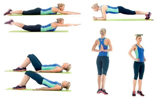Комплекс базовых упражнений для исправления осанки