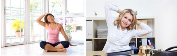 Гимнастику Шишонина можно выполнять и дома, и в офисе