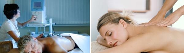 Не все физиопроцедуры можно сочетать с массажем