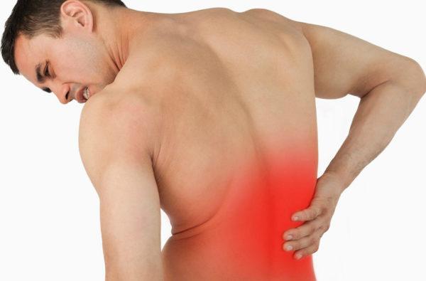 Боль в спине при наклонах