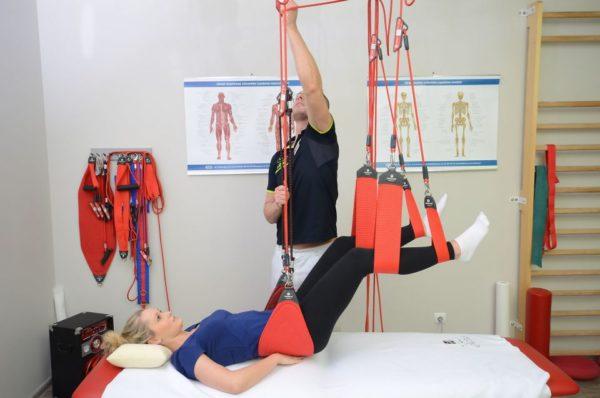Любые занятия и упражнения проводятся под наблюдением врача