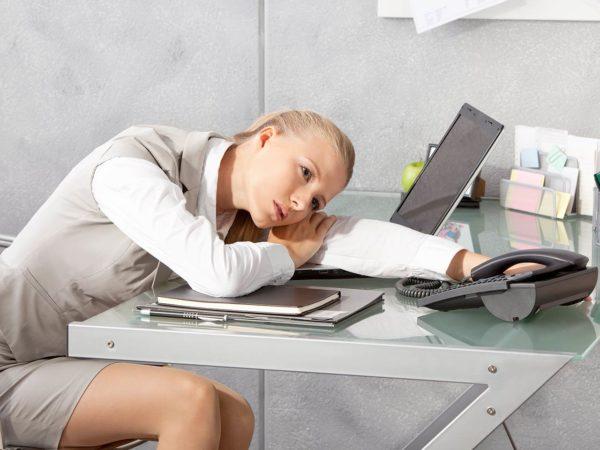 Сидячая работа и малоподвижный образ жизни