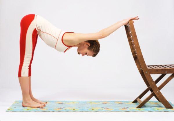 Упражнения способствуют повышению гибкости позвоночника