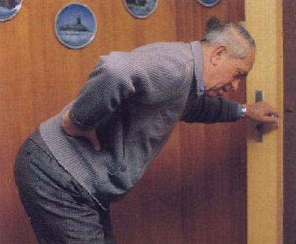 У пожилых людей люмбаго встречается достаточно часто