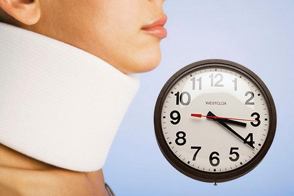 Важно носить бандаж определенное количество времени, которое обозначит врач