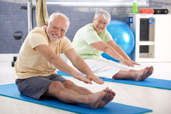 ЛФК – не менее эффективный метод лечения околосуставного остеопороза