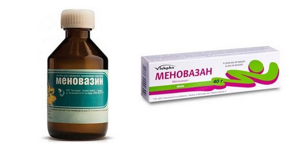 «Меновазин» - верный помощник в лечении остеохондроза шейного отдела
