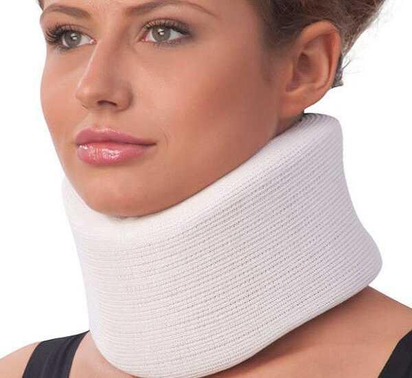 Бандаж эффективен в лечении шейного остеохондроза