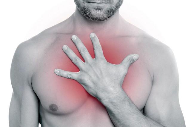 Синдром Титце – наиболее редкая причина боли между ребрами