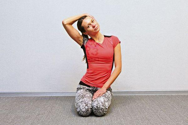 Для улучшения состояния рекомендуется проводить лечебную гимнастику для шеи