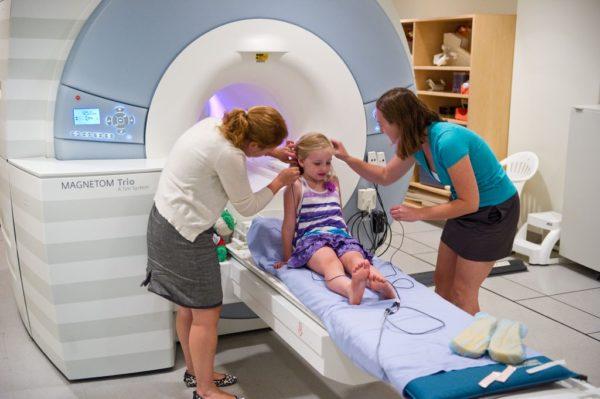 МРТ исследование проводят даже детям