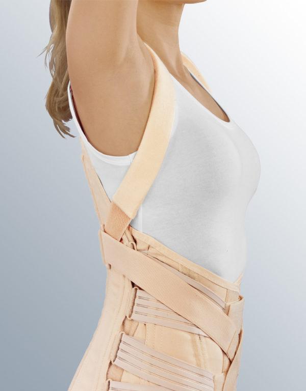 Полужесткий грудопоясничный корсет