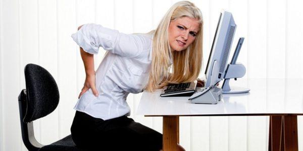 Болезненность кожи на спине мешает нормально сидеть