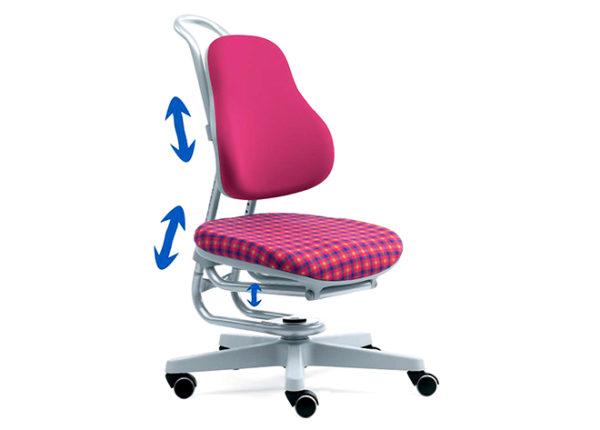 Ортопедические кресла имеют анатомическую форму, что позволяет поддерживать правильную осанку у ребенка