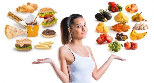 Важно отдавать предпочтение здоровому питанию