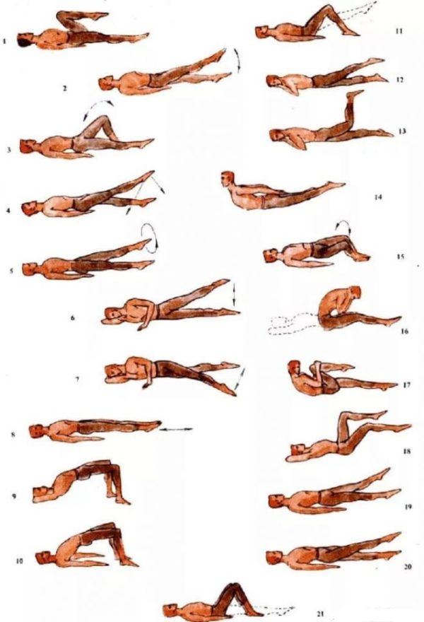 Домашние упражнения для спины