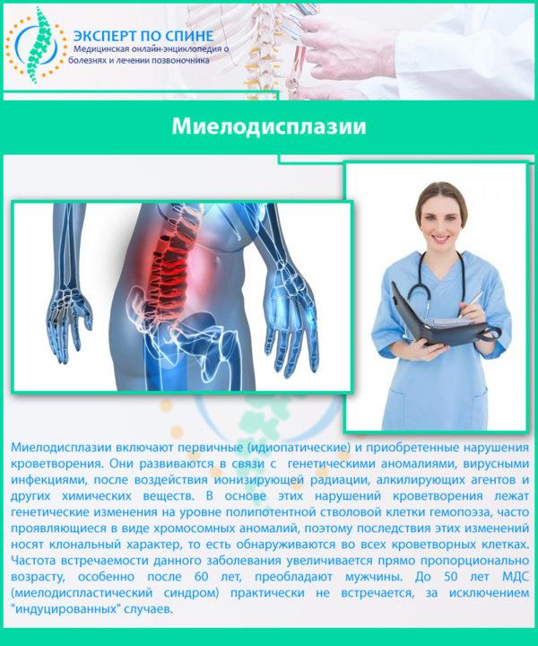Миелодисплазии