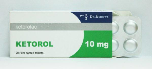 Препарат Кеторол в форме таблеток