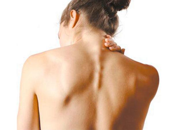 Соли в спине