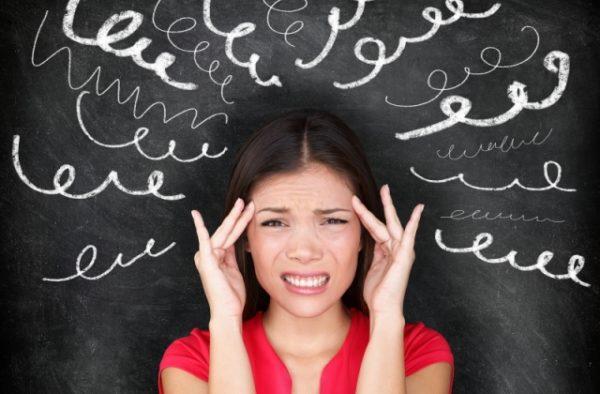 Стрессовое состояние может вызывать холод в спине