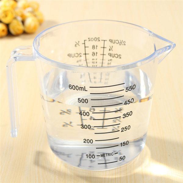 Точное количество водки можно определить, пользуясь мерным стаканом