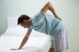 Усиливающиеся боли при наклонах вперед