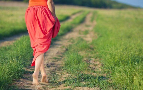 Ходьба босиком улучшает кровообращение