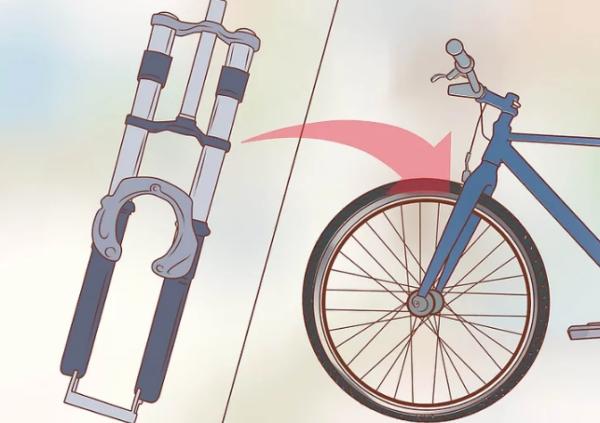 Выберите велосипед как минимум с передними амортизаторами, но если вам важно предотвратить боли в спине, подумайте о покупке велосипеда с полной подвеской где-то под седлом