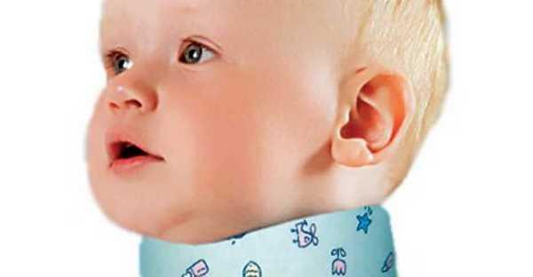 Цель врачей – зафиксировать шею малыша, чтобы она как можно быстрее восстановилась