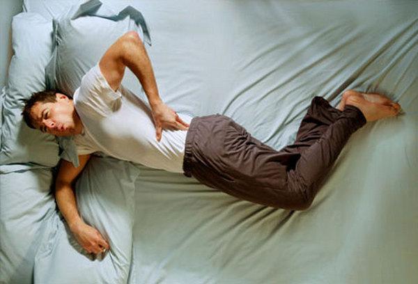 Ночные боли в спине в положении лежа ночью