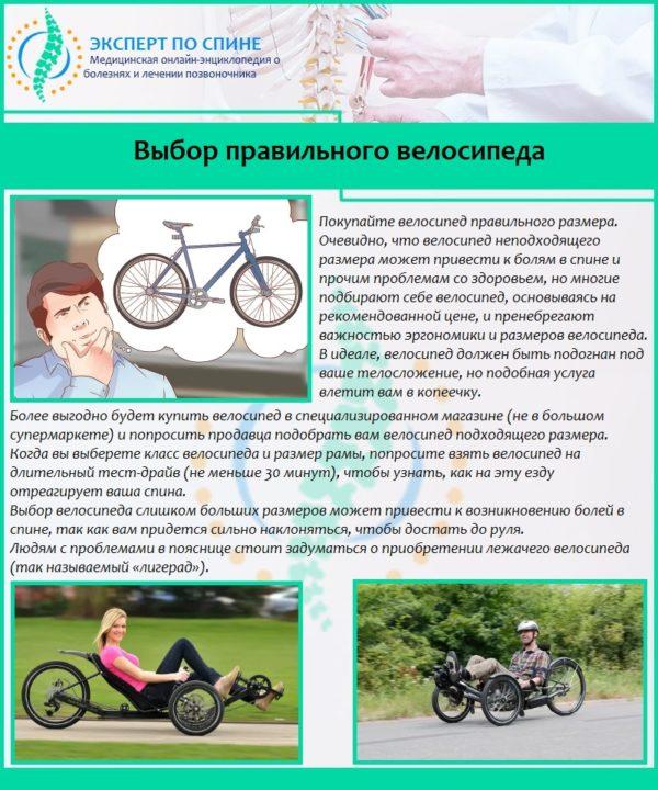 Выбор правильного велосипеда