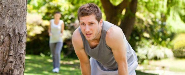 Бег на полный желудок снижает эффективность занятий и приводит к быстрой утомляемости
