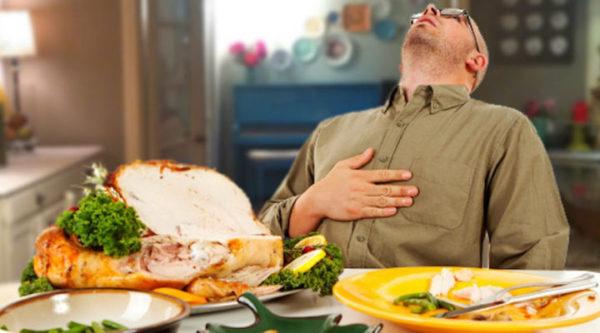 Нельзя делать массаж на полный желудок